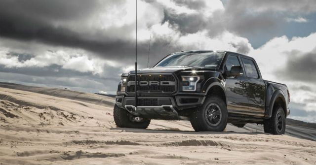 A Ford Raptor Where You Don't Expect to See One