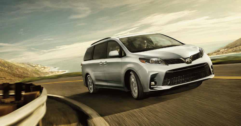 Family Joy Found in the Toyota Sienna