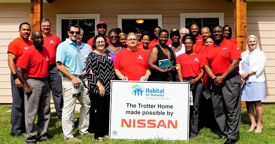 Nissan Take the Opportunity for Community Improvement