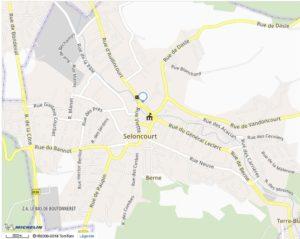 Carte adresse cabinet de réflexologie