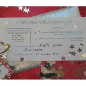 Carte cadeau réflexologie