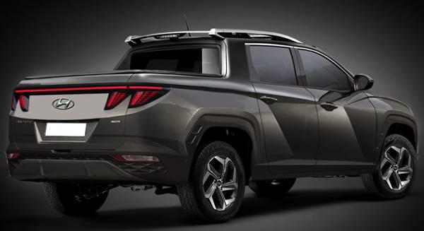2022 Hyundai Santa Cruz Truck Exterior