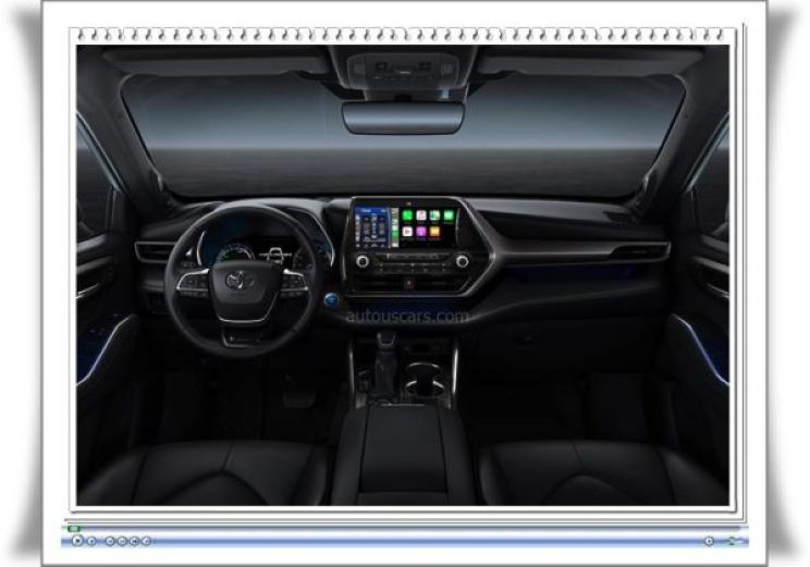 2023 Toyota Highlander Interior