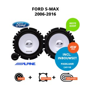 Budget speakers voor Ford S-Max 2006-2016