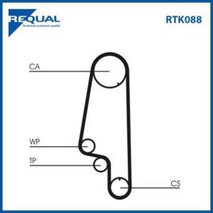 Requal Distributieriem kit RTK088