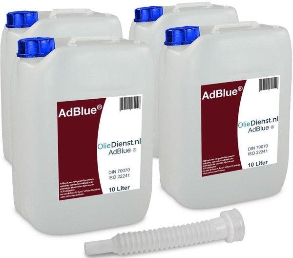 Adblue 10 Liter X 4 = 40 Liter