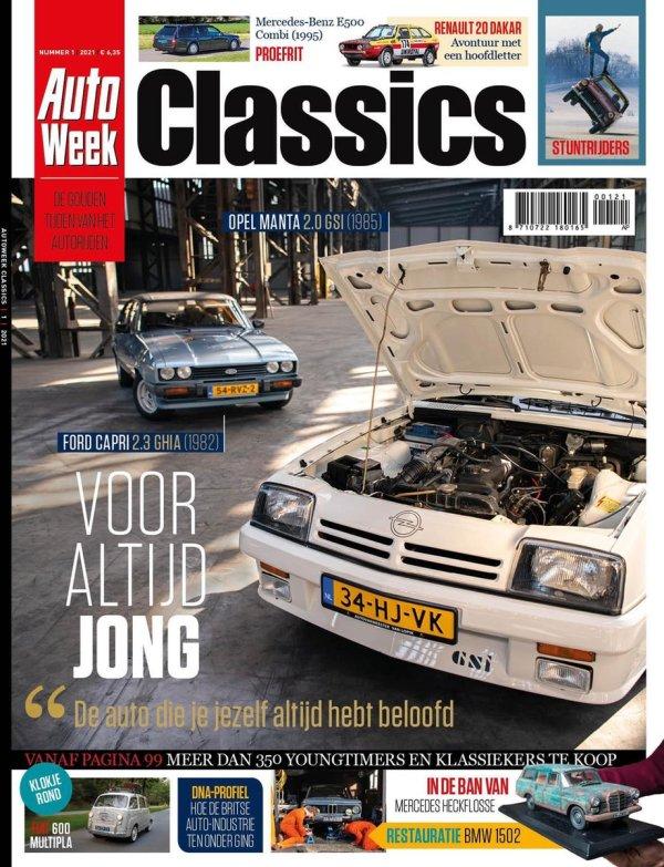 Autoweek Classics Magazine 1 - 2021