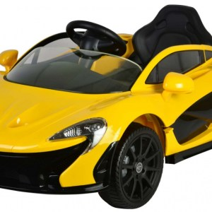McLaren P1 accuvoertuig met afstandsbediening 12V geel