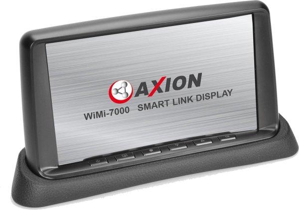 """AXION 7"""" WiFi mirroring monitor met achteruitrij camera ingang - geintegreerde Dashcam voor op Dashboard"""