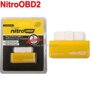2016 Hot Sale OBD2 Chip Tuning Box NitroOBD2 For Benzine Car Chip Tuning Box Plug and Drive Nitro OBD2