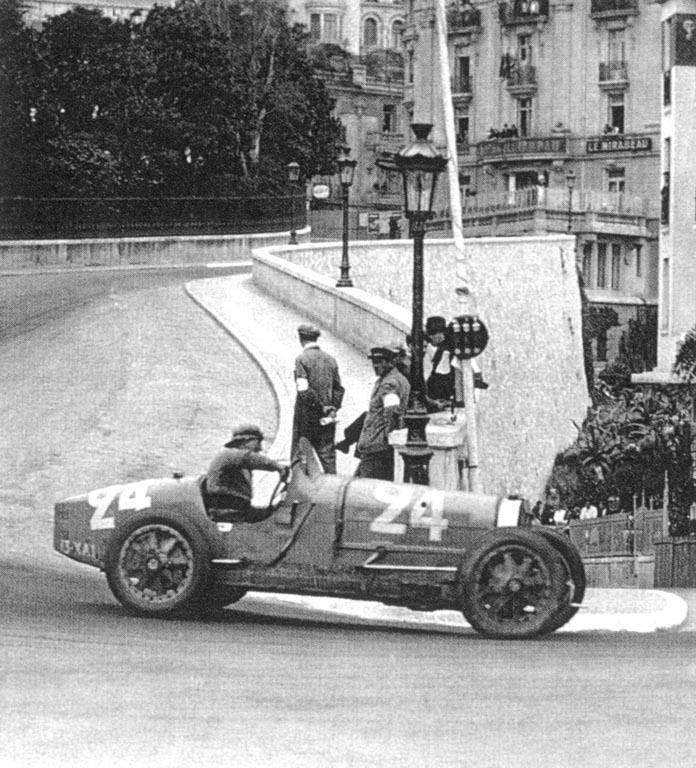 El Grand Prix de Mónaco 1930