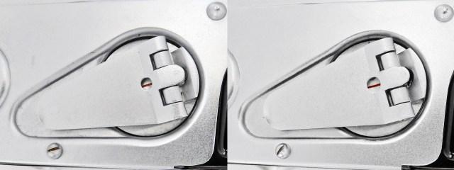 minolta auto wide film transport indicator A-B