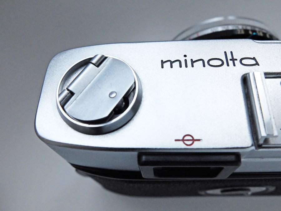 minolta A3 Rewind crank
