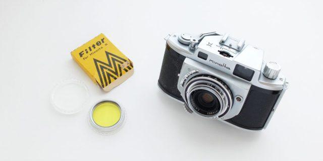 Minolta A Y48 Filter with Box