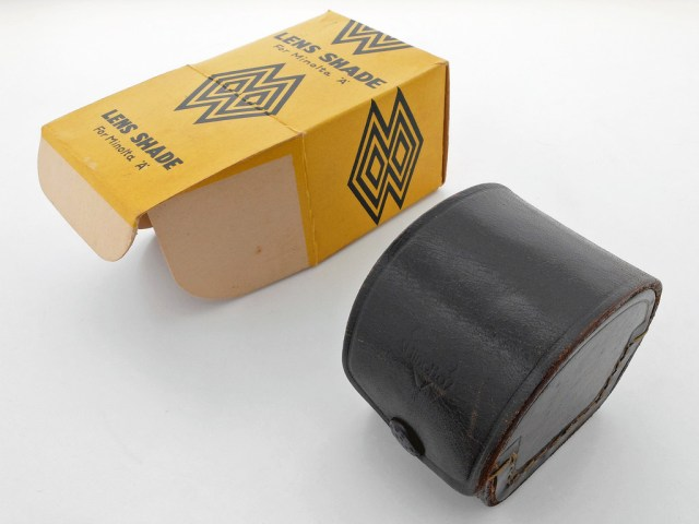 Lens Shade for Minolta A_ BOX_ CASE Opened