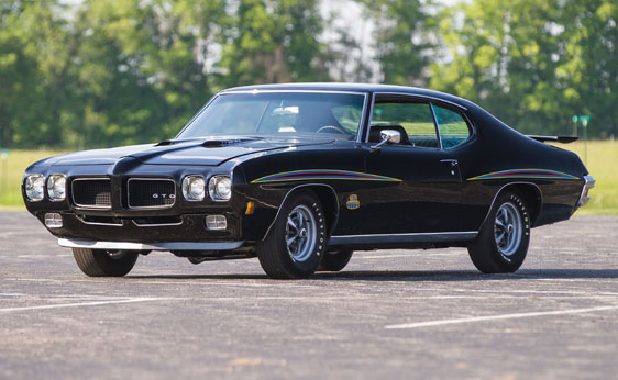 The Top Ten American Muscle Cars and What They Are Worth 1970 Pontiac GTO Judge Ram Air IV