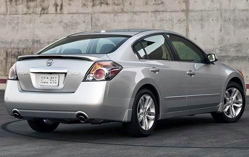 2012 Nissan Altima - rear view