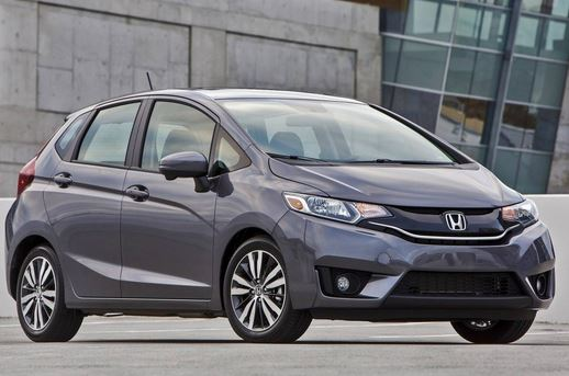 2015 Honda Fit - front side view