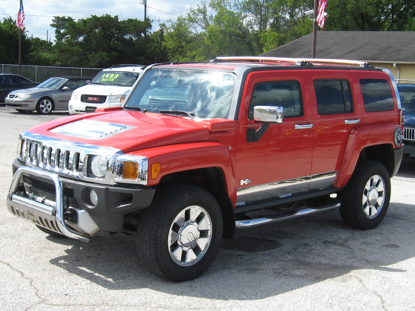 2008 Hummer H3 Utility 4D Luxury 4WD