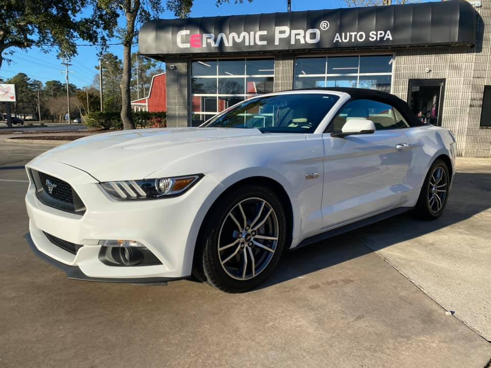 2017 Mustang Ceramic Pro Myrtle Beach CP Yearly Inspection - Year 1 after Ceramic Pro