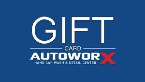 AutoworX Gift Cards Myrtle Beach Hand Car Wash & Detail Center