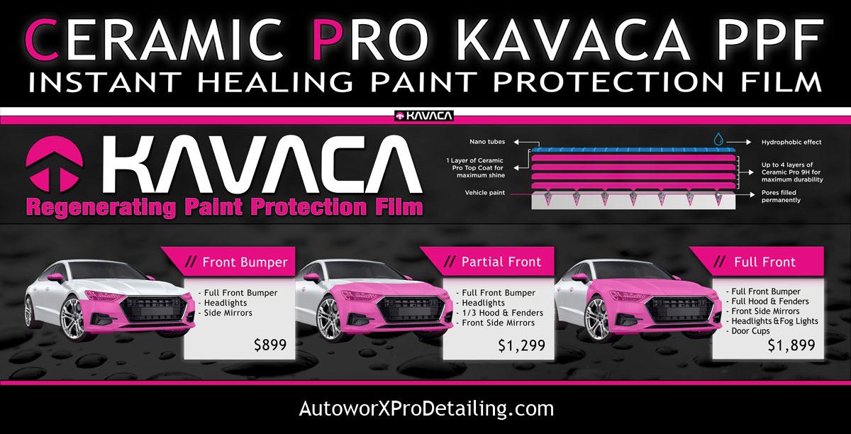 Kavaca Paint Protection Film Installer AutoworX WIlmington NC