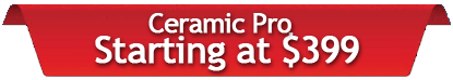 AutoworX CeramicPro Prices Starting At 399 WIlmington NC