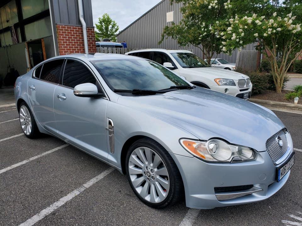 Jaguar Detailing AutoworX Wilmington NC Professional Detailing