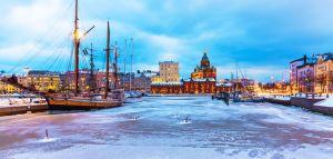 Talvinen Helsinki