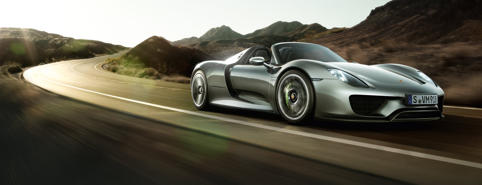 10 most powerful cars in the world - Porsche 918 Spyder