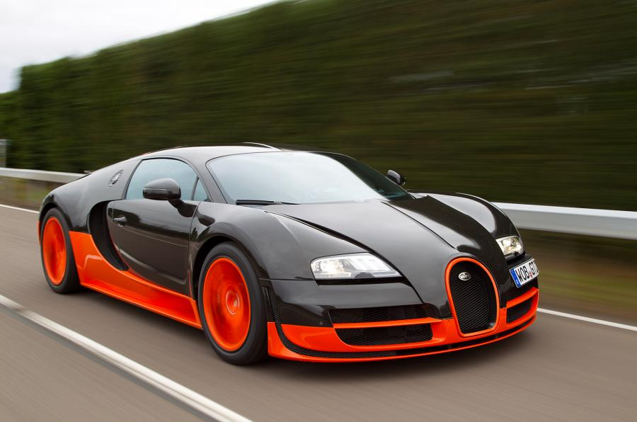 Top 7 Fastest Cars In The World - Bugatti Veyron
