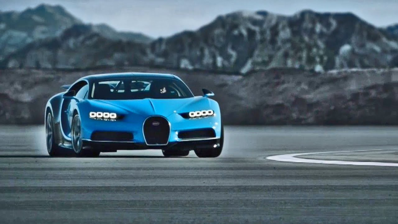 Bugatti Chiron - The most expensive cars in the world