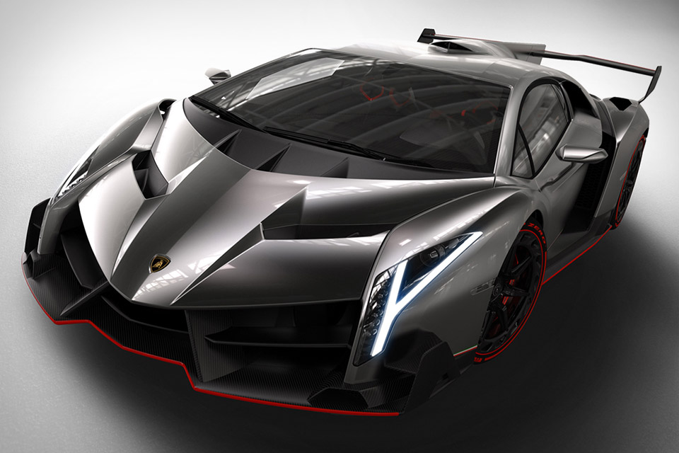 Lamborghini Veneno - The most expensive cars in the world