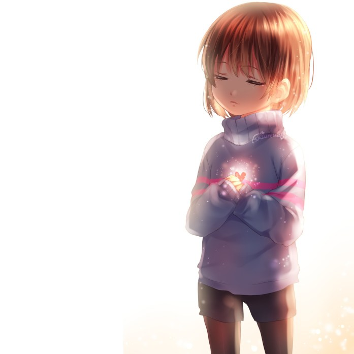 Undertale Wallpaper Frisk par sasucchi95
