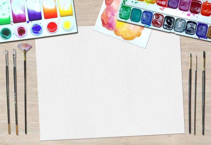 Peinture article sur dessin