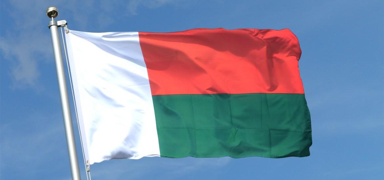 drapeau malgache