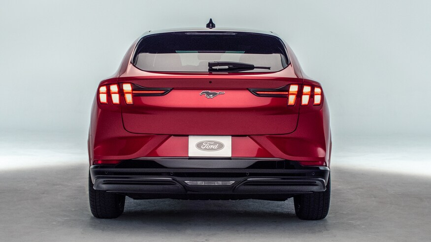 Electric Mustang rear