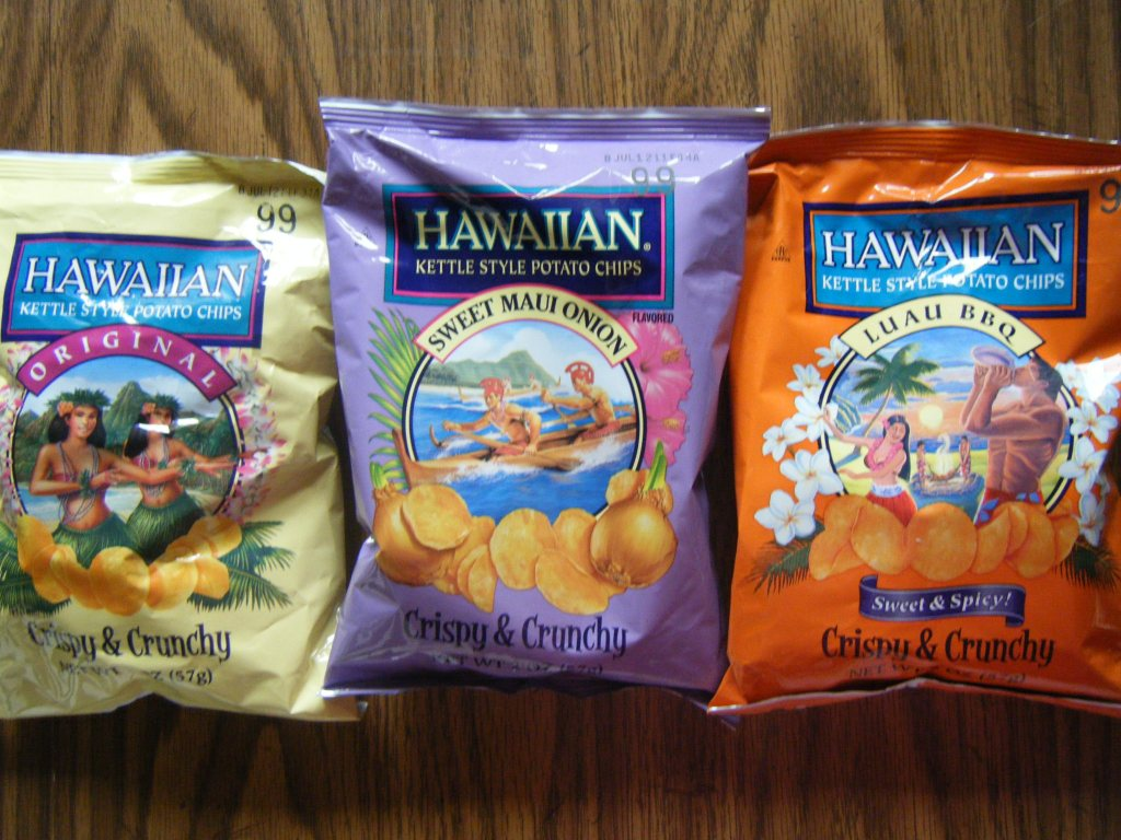 [review] Hawaiian Kettle Style Chips