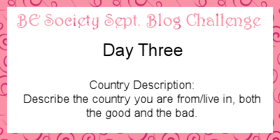 3/30- Sept @theBESociety challenge- your country #besociety #beseptchallenge
