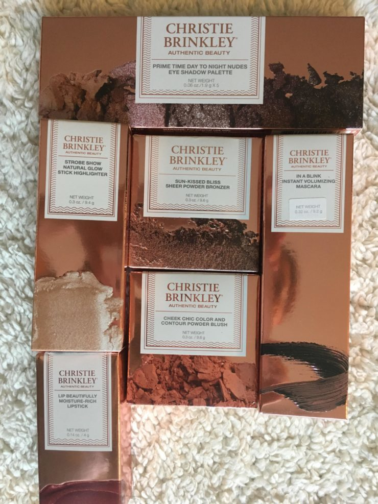 Review: Christie Brinkley Authentic Beauty Cosmetics #review #sponsored #christiebrinkley