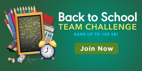 Earn Free Gift Cards during the Back to School Team Challenge – US #ad #sponsored #swagbucks