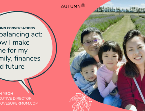 """Autumn Conversations: """"How I make time for my career, family and well-being"""" by Lynn Yeoh"""