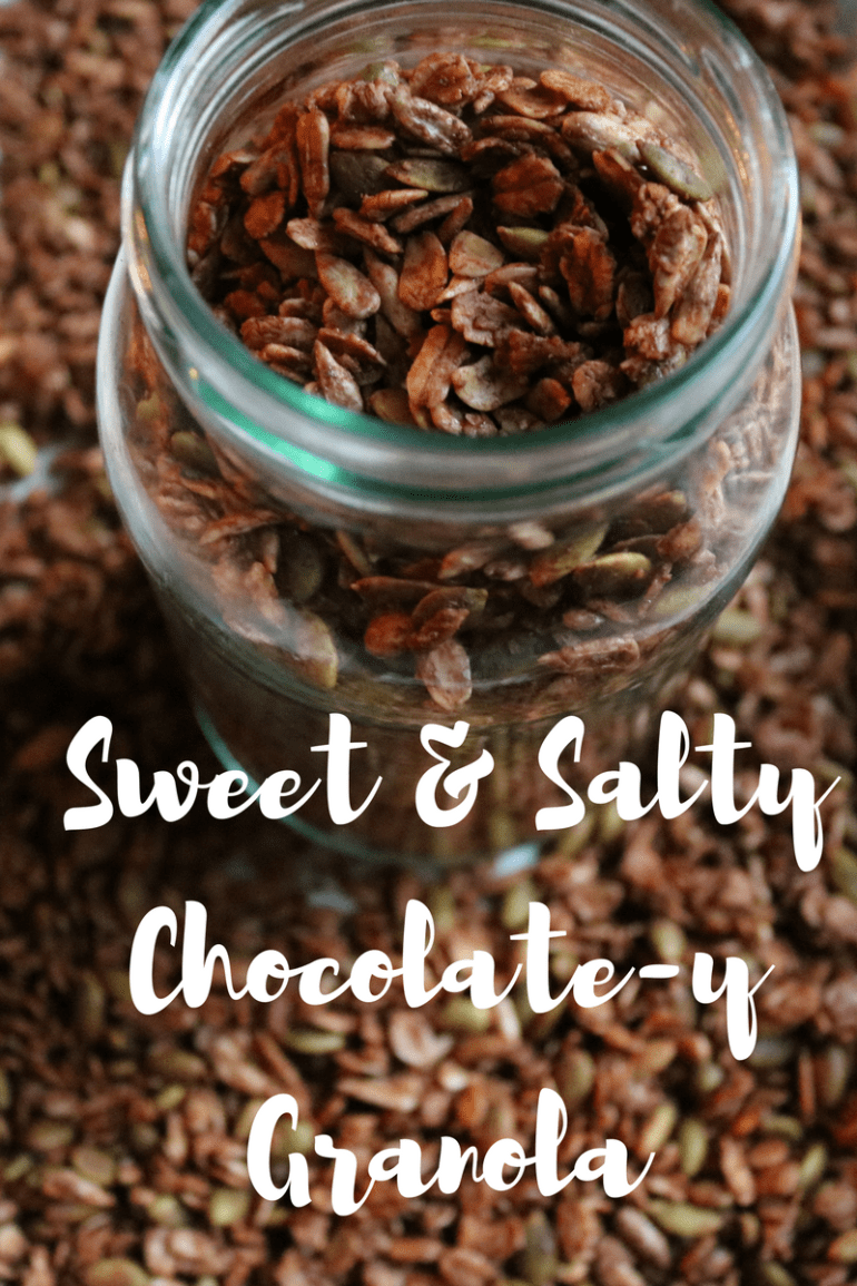 Sweet & SaltyChocolaety