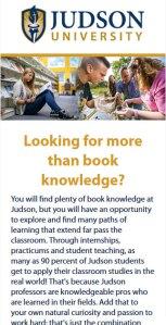 Judson University Academics