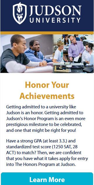 Judson University Honors Program
