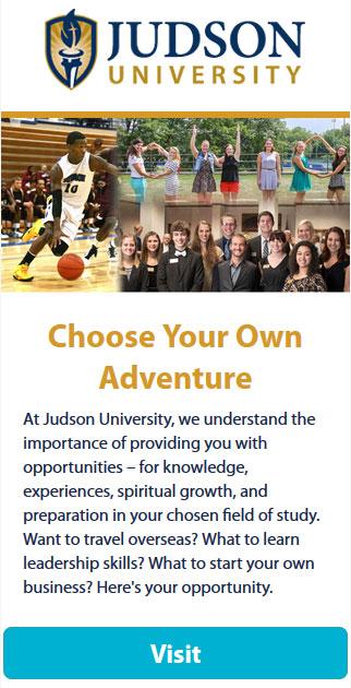 Judson University Opportunities