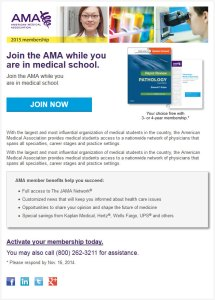 AMA Responsive Email