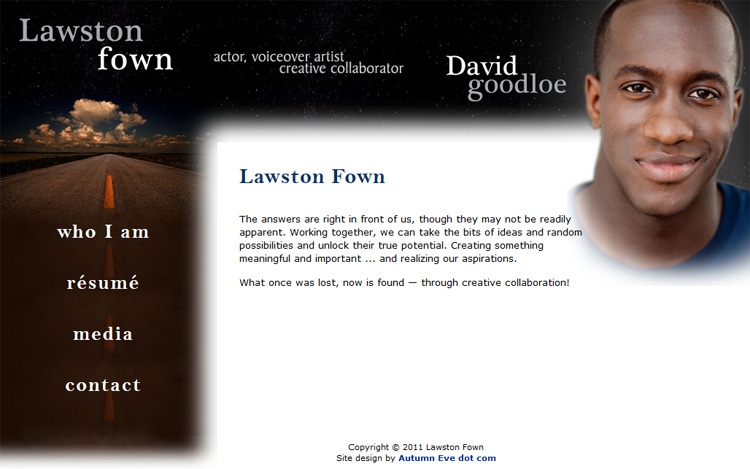 Lawston Fown: Website