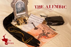 The Alembic: Social Card (Mrs. Sorenson) [photography and design]