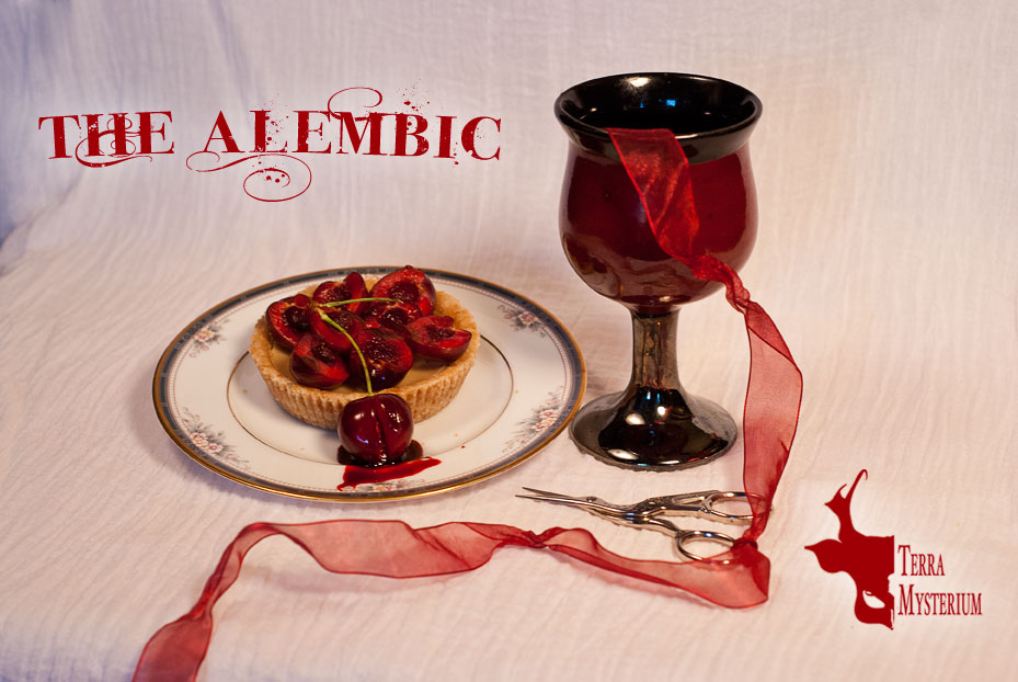 The Alembic: Social Card (Vera) [photography and design]